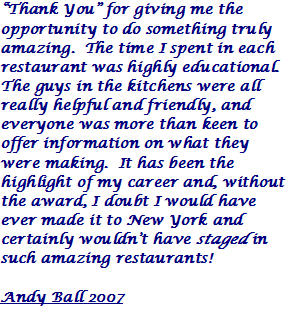 Andy Ball 2007 Quote